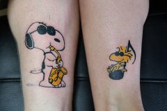 Tattoo Snoopy