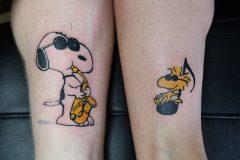 Tattoo Snoopy