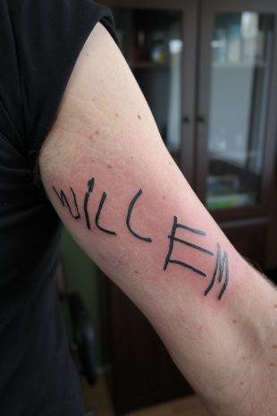 Tattoo Willem